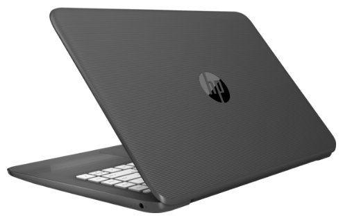"Ноутбук 14"" HP 2EQ31EA Stream 14-ax014ur Celeron N3060/2Gb/SSD32Gb/Intel HD Graphics 400/HD (1366x768)/Windows 10 64/grey/WiFi/BT/Cam"