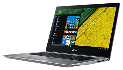 "Ноутбук 14"" Acer NX.GPLER.004 Swift 3 SF314-52-5425 Core i5 7200U/8Gb/SSD256Gb/Intel HD Graphics 620/IPS/FHD (1920x1080)/Linux/blue/WiFi/BT/Cam/3220mA"