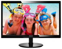 "Монитор 24"" Philips 246V5LSB (00/01) черный TN+film LED 5ms 16:9 DVI матовая 250cd 1920x1080 D-Sub FHD 4.65кг"