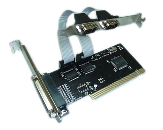 Купить со скидкой Контроллер PCI WCH353 1xLPT 2xCOM Bulk