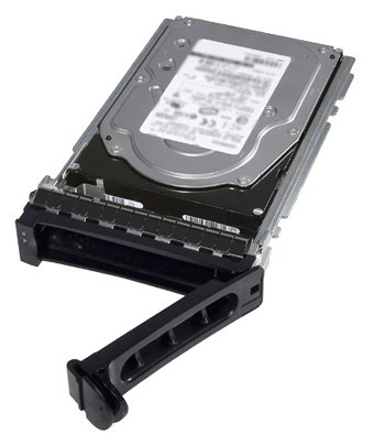 """Жесткий диск Dell 1.2Tb SAS 10K для 14G 400-ATJM Hot Swapp 2.5/3.5""""  - купить со скидкой"""