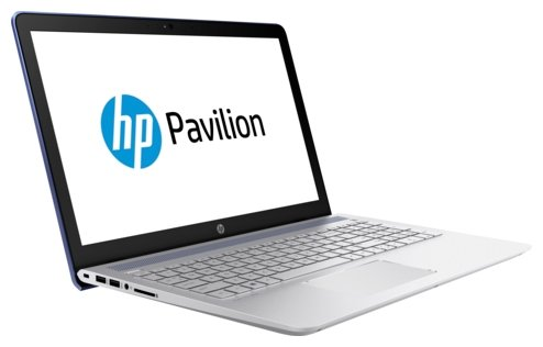 "Ноутбук HP 2CT32EA Pavilion 15-cc534ur Core i7 7500U/8Gb/2Tb/SSD128Gb/nVidia GeForce 940MX 4Gb/15.6""/FHD (1920x1080)/Windows 10/blue/WiFi/BT/Cam"