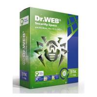 ПО Dr.Web AHW-B-12M-3-A2 DR.Web Security Space Pro 3-Desktop 1 year Base Box