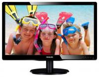 "Монитор 19.53"" Philips 200V4QSBR/00 1920x1080 MVA LED 16:9 8ms VGA DVI-D 10M:1 178/178 250cd Black"
