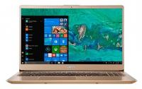 "Ноутбук Acer NX.GZBER.002 Swift 3 SF315-52-50TG Core i5 8250U/8Gb/SSD256Gb/Intel UHD Graphics 620/15.6""/IPS/FHD (1920x1080)/Windows 10/gold/WiFi/BT/Ca"