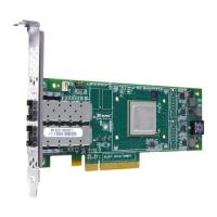 Контроллер Dell 406-BBBB QLogic QLE2662, Dual Port, 16Gbps Fibre Channel PCIe HBA Card Full Height