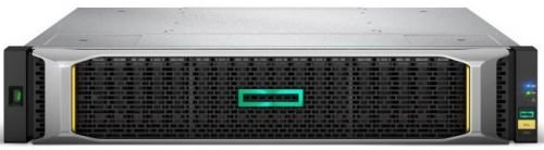 Сетевое хранилище HPE Q1J07A MSA 2050 SFF 24 Disk Enclosure (used with LFF or SFF array head, w/ 2x0.5m miniSAS cables)