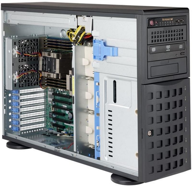 Купить Серверная платформа Supermicro SYS-7049P-TR 4U SATA