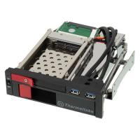 "Сменный бокс для монтажа Internal HDD Rack 2.5"" / 3.5"" Tt Max 5 Duo SATA/ Two bay/ black ST0026Z"