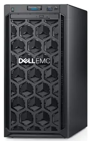 Сервер DELL PowerEdge T140 4LFF Cabled / 1xE-2286G/ 1x8GB UDIMM/ H330 / 1x4TB SATA 7.2k/ 2xGE/ 365W/ iDRAC Express/ 3YBWNBD/ DVD-RW