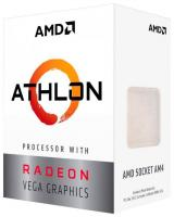 Процессор AM4 Athlon 200GE AMD YD200GC6FBBOX (3.2GHz/100MHz/Radeon Vega) Box