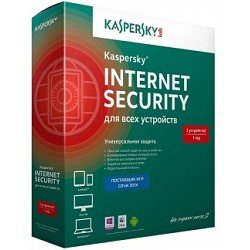 ПО Лаборатория Касперского KL1941RBBFR Антивирус Kaspersky Internet Security Multi-Device Russian Edition. 2-Device 1 year Renewal Box