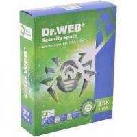 ПО Dr.Web AHW-B-12M-3-A3 DR.Web Security Space Трешка 3 ПК/12 месяцев