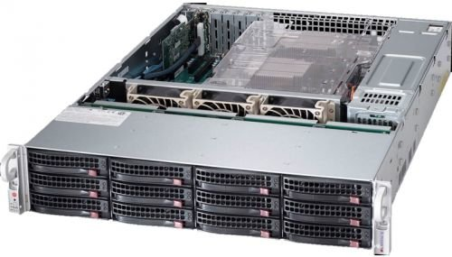 Серверная платформа Supermicro SSG-6028R-E1CR16T 2U BLACK
