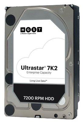 Купить Жесткий диск SATA 1TB HGST 1W10001 7200RPM 6GB /S 128MB 7K2