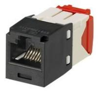 Коннектор Panduit CJ5E88TGBL MINI COM RJ45 TX5e, UTP Т568A/B Enhanced (черный)