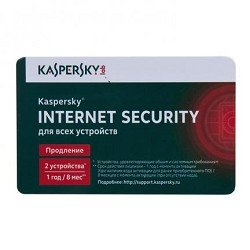 ПО Лаборатория Касперского KL1941ROBFR Антивирус Kaspersky Internet Security Multi-Device Russian Edition. 2-Device 1 year Renewal Card