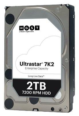 Купить Жесткий диск SATA 2TB HGST 1W10002 7200RPM 6GB /S 128MB 7K2
