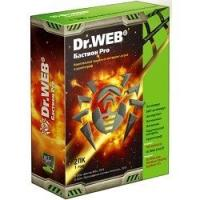 ПО Dr.Web BHW-BR-12M-2-A3 DR.Web Security Space PRO + криптограф Atlansys Bastion 2-Desktop 1 year Box