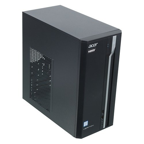 Купить Компьютер Acer DT.VQEER.032 Veriton ES2710G MT i3 7100 (3.9)/8Gb/SSD256Gb/HDG630/Windows 10 Professional/GbitEth/220W/черный