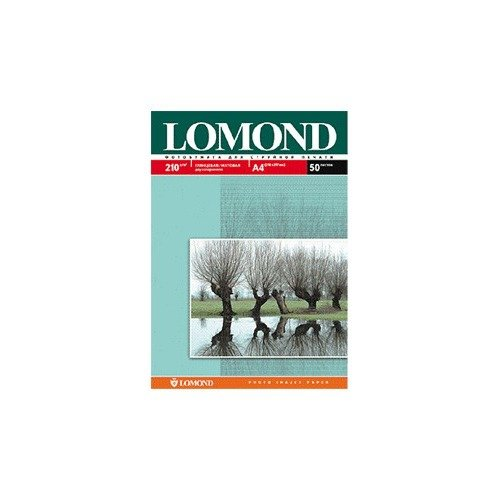 Купить со скидкой Бумага Lomond 0102027 А3+ глянцевая/мат.бумага 2x, 210г/м2, 20 листов