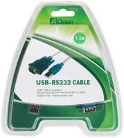 Кабель Aopen ACU804 USB2 AM-RS-232