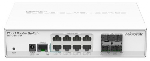 Маршрутизатор MIKROTIK CRS112-8G-4S-IN 8PORT 1000M 4SFP