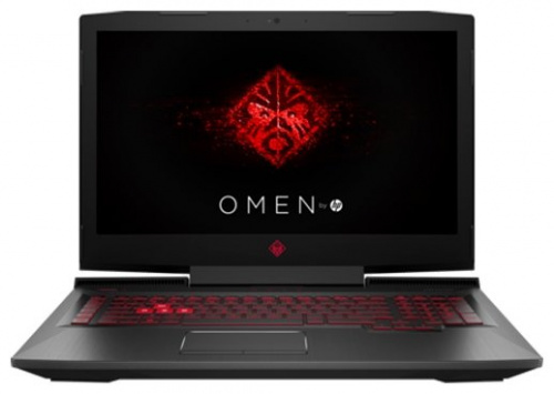 "Ноутбук 17.3"" HP 2CM06EA Omen 17-an017ur Core i5 7300HQ/8Gb/1Tb/DVD-RW/nVidia GeForce GTX 1050 2Gb/IPS/FHD (1920x1080)/Windows 10/black/WiFi/BT/Cam"