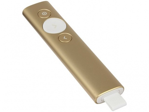 Мышь Logitech 910-004862 PRESENTER, SPOTLIGHT GOLD R-R0011