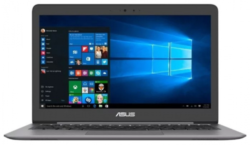 "Ноутбук 13.3"" Asus 90NB0HY1-M00570 Zenbook UX310UF-FC031T Core i7 8550U/12Gb/SSD512Gb/nVidia GeForce Mx130 2Gb/FHD (1920x1080)/Windows 10/grey/WiFi/BT"
