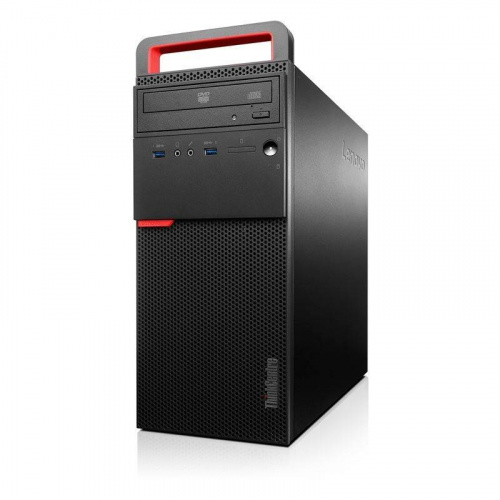 Компьютер Lenovo 10GRS09J00 ThinkCentre M700 Tower,Core i3-6100, 4GB DDR4, 1TB/7200, DVD, USB Keyboard , USB Optical Mouse Black, Win 10Pro, 3YR Onsit