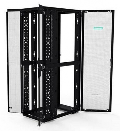 Шкаф HPE P9K37A 42U/600x1075mm, G2 Enterprise Pallet Rack (with front & rear doors, without side panels),