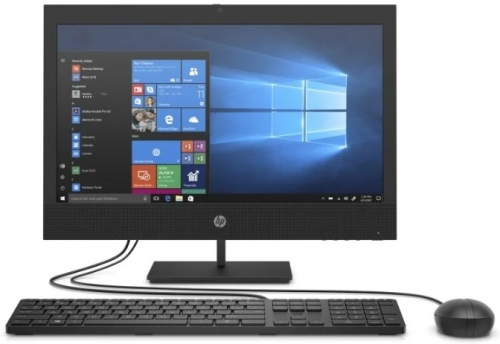 "Моноблок HP ProOne 400 G6 All-in-One NT 19,5""(1600x900) Core i3-10100T,4GB,1TB,DVD,kbd&mouse,Fixed Stand,Intel Wi-Fi6 AX201 nVpro BT5,HDMI Port,HD 720p Dual,Win10Pro(64-bit),1-1-1 Wty"