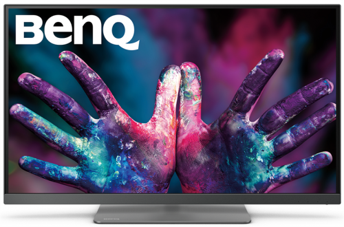 "Монитор BENQ 27"" PD2720U IPS LED 3840x2160 5ms 350cd/m2 20M:1 178°/178° HDMI  DP1.2, miniDP1.2, USB 3.1x3/TB3x2 Flicker-free speakers HAS Pivot Tilt Swivel Black"