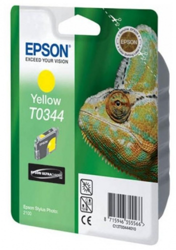 Картридж Epson C13T03444010 для принтера Stylus Photo 2100 yellow
