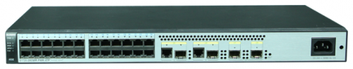 Коммутатор Huawei S1720-28GWR-PWR-4TP Bundle (8 Ethernet 10/100/1000 PoE+,16 Ethernet 10/100/1000,2 Gig SFP and 2 dual-purpose 10/100/1000 or SFP,with