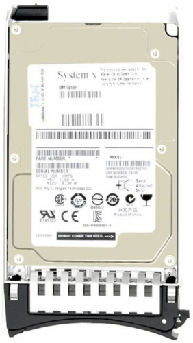 Жесткий диск Lenovo 00NA251 900GB 10K 12Gbps SAS 2.5in G3HS 512e HDD (x3550 M5/x3650 M5/nx360 M5)
