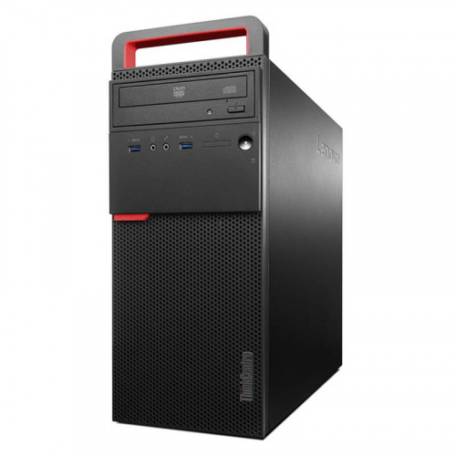 Компьютер Lenovo 10GRS09E00 ThinkCentre M700 Tower,Core i5-6400, 4GB DDR4, 1TB/7200, DVD, USB Keyboard , USB Optical Mouse Black, No OS, 3YR Onsite