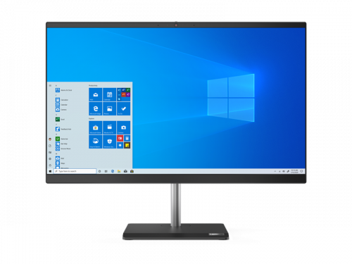 "Моноблок Lenovo V50a-22IMB All-In-One 21.5"" i5-10400T, 8GB, 512GB SSD M.2, Intel UHD 630, WiFi, BT, DVD-RW, USB KB&Mouse, Win 10 Pro64 RUS, 1Y OS"