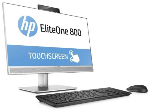 "Моноблок HP 1KB39EA EliteOne 800 G3 All-in-One 23,8""Touch (1920 x 1080),Core i5-7500,8GB DDR4-2400 SDRAM,256GB SSD,DVDRW,Wrless kbd&mouse,Adjustable S"