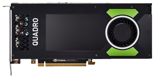 Видеокарта PNY VCQP4000BLK-1 Nvidia Quadro P4000 8GB PCIE 4xDP1.4+3pin 3D-Stereo 256-bit 1792 Cores DDR5 4xDP to DVI-D (SL) adapter+Stereo connector b