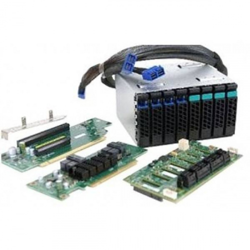 Корзина для жестких дисков Intel A2U44X25NVMEDK 2U Hot-swap Drive Cage Upgrade Kit with 4x NVMe SSD Support A2U44X25NVMEDK Upgrade kit to enable NVM E