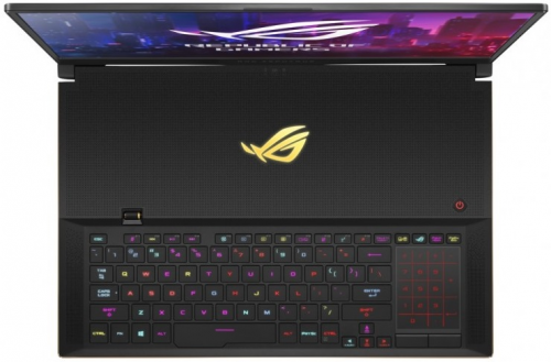 Ноутбук ASUS ROG Zephyrus S17 GX701LXS-HG052R Core i7-10875H/32Gb DDR4-3200/1TB M.2 SSD/17.3 FHD IPS 300Hz(1920x1080)Gsync/GeForce RTX 2080 SUPER 8Gb Max-Q/WiFi6/BT/Cam/Windows 10 Pro/Gaming Mouse/2.6Kg/Blac