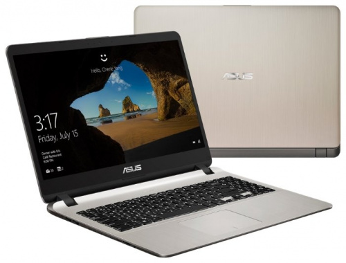 "Ноутбук 15.6"" Asus 90NB0HI1-M01890 VivoBook X507UA-EJ091T Core i5 7200U/4Gb/1Tb/Intel HD Graphics/FHD (1920x1080)/Windows 10/grey/WiFi/BT/Cam"