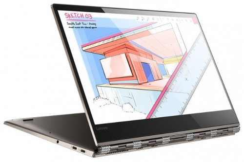 Ноутбук Lenovo 80Y7001QRK YOGA 920-13IKB Core i7 8550U/16Gb/SSD1Tb/Intel HD Graphics 620/IPS/Touch/UHD (3840x2160)/Windows 10/cuprum/WiFi/BT/Cam