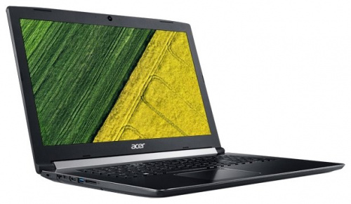 "Ноутбук 17.3"" Acer Aspire NX.GSXER.006 A517-51G-810T Core i7 8550U/12Gb/1Tb/SSD128Gb/nVidia GeForce Mx150 2Gb/IPS/FHD (1920x1080)/Windows 10/black/WiF"