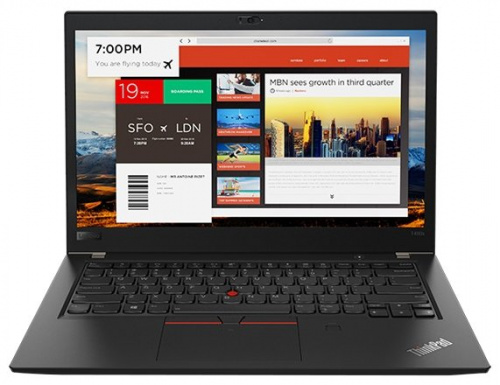 "Ноутбук 14"" Lenovo 20L7001HRT ThinkPad T480s Core i7 8550U/16Gb/SSD512Gb/Intel HD Graphics 620/IPS/WQHD/4G/Windows 10 Professional 64/black/WiFi/BT/Ca"