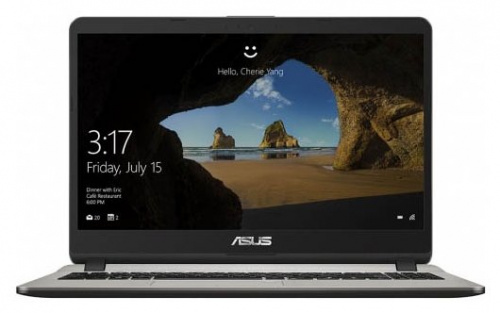 "Ноутбук 15.6"" Asus 90NB0F25-M05010 X542UA-DM394 Core i3 7100U/8Gb/1Tb/DVD-RW/Intel HD Graphics/FHD (1920x1080)/Free DOS/black/WiFi/BT/Cam"