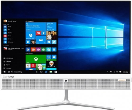 "Моноблок Lenovo F0CD00HPRK 510-23ISH All-In-One 23"" FHD (1920x1080) MS White I5-7400T 8Gb_DDR4 1TB/7200 Intel HD DVD-RW KB&DOS 1Y carry-in (RUB)"