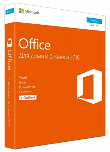 ПО Microsoft T5D-02705 Office Home and Business 2016 Russian DVD